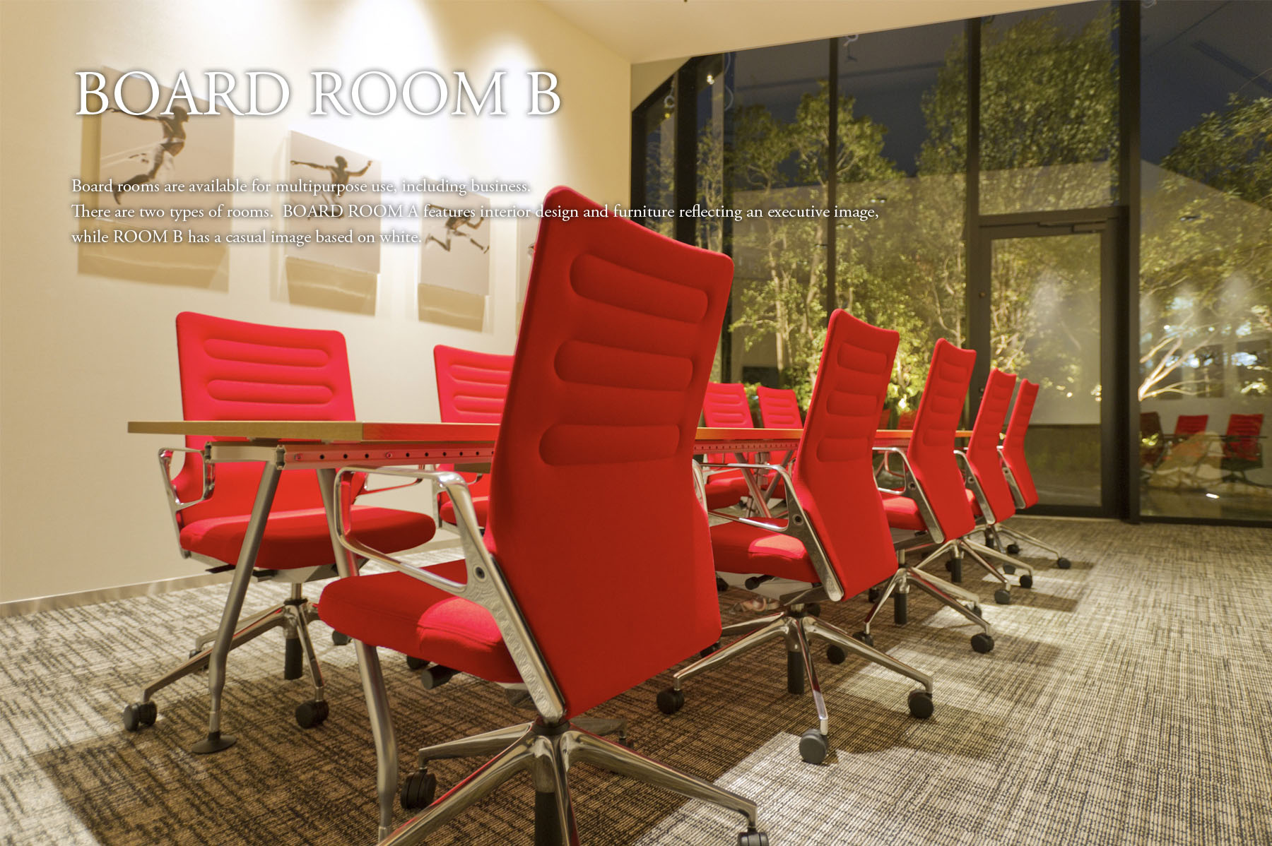 board room b common area luxury space official comforia shinjuku